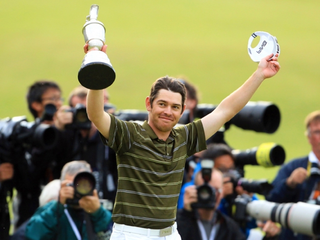 Newcomer Louis Oosthuizen Captures British Open