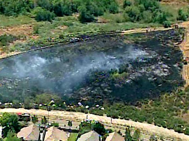 Brush Fire Breaks out in East County