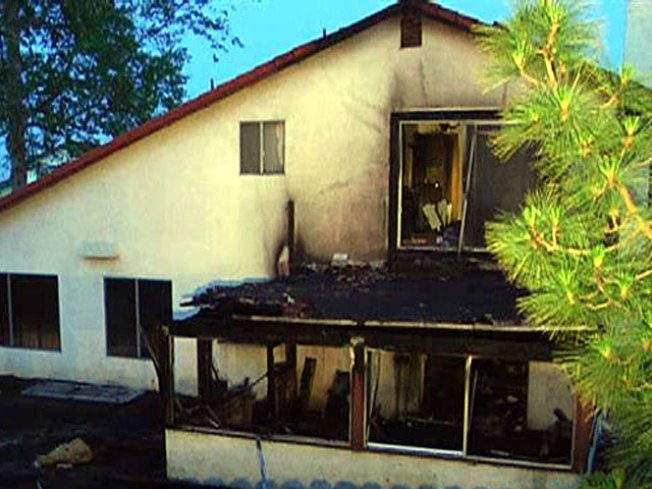 Pot Plants Discovered After House Fire