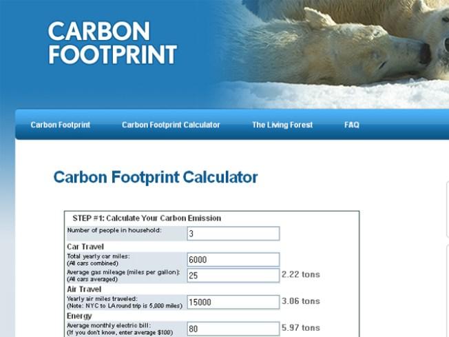 zoo s calculator measures carbon footprint nbc 7 san diego