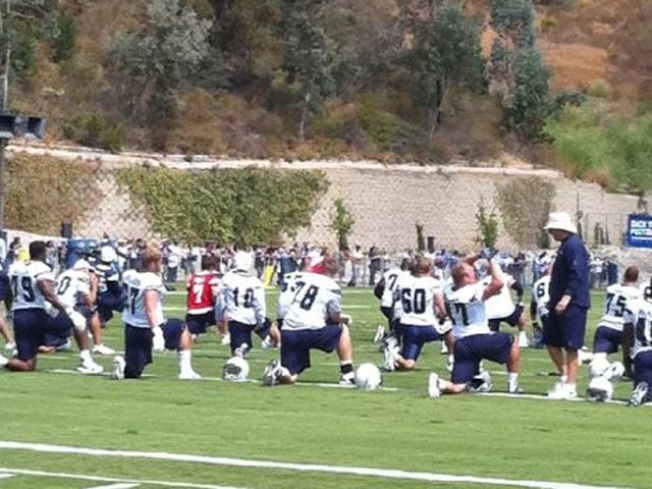 Chargers' First Practice -- Who's Missing?