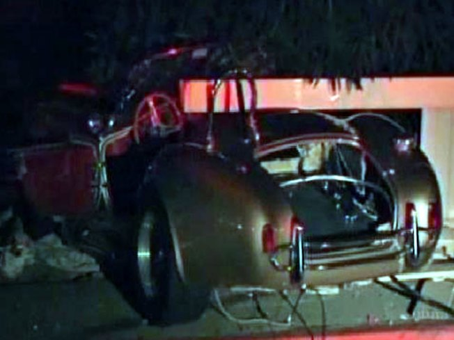 Shelby Cobra Totaled in La Jolla Crash