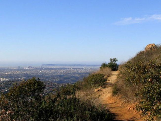 Hiker Injured on Cowles Mountain