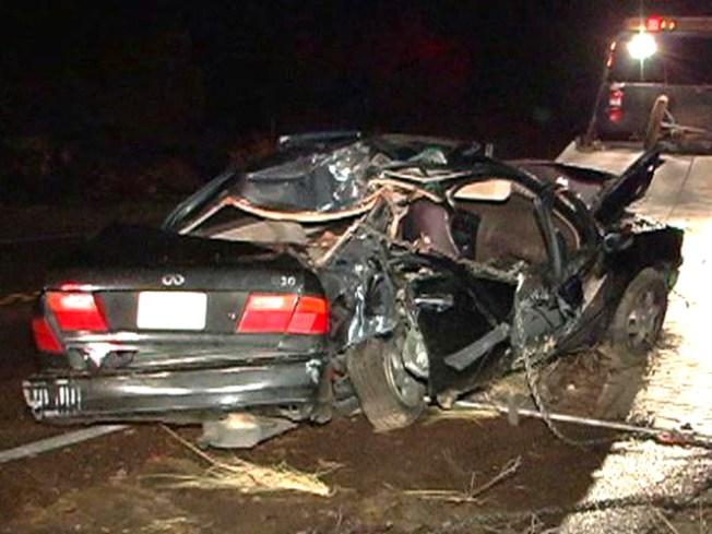 4 Teens Hurt in DUI Crash: CHP