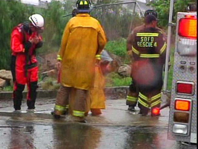 Kids Rescued From Flood Waters