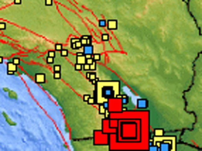 Quakes Rattle San Diego County