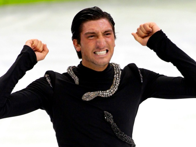 Lysacek Wins Skating Gold