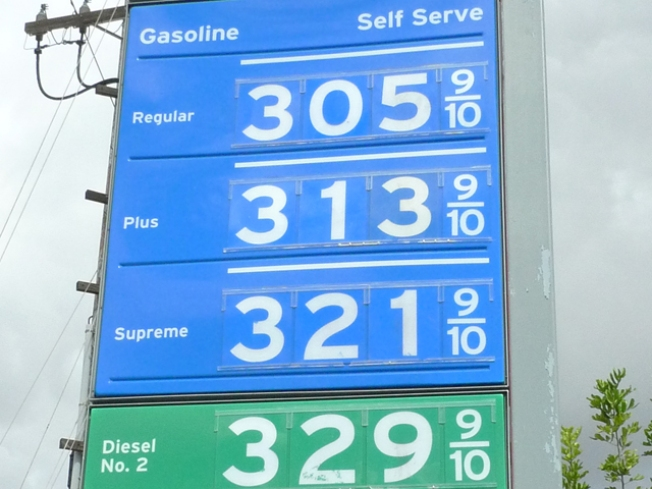 Gas Prices Soaring