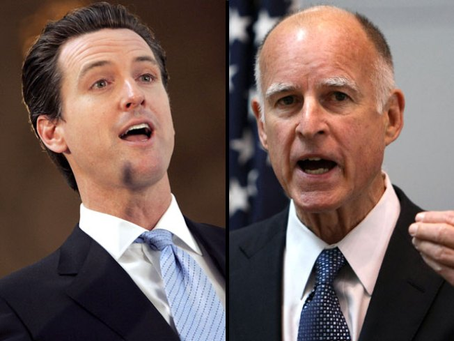 Early Tinseltown Showdown in Governor's Race