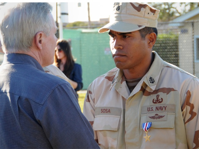 Valor Earns Navy Chief Silver Star