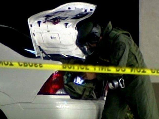 Cops Find Live Grenade in Car's Trunk