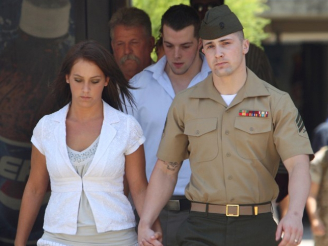 Marine Released from Confinement