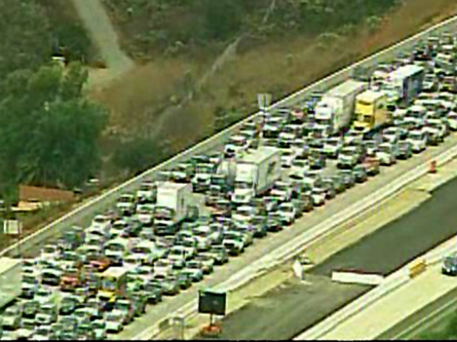Not a Repeat: Accident Shuts Down I-15 SB