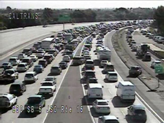 Lanes Reopened on I-5 at Harbor Drive