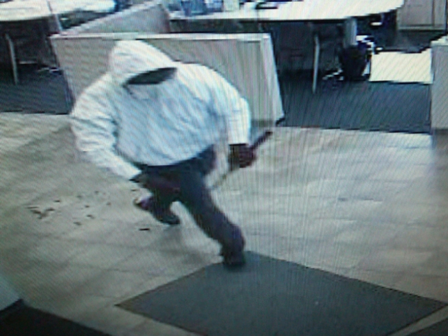 Pics Released in Violent Bank Heist