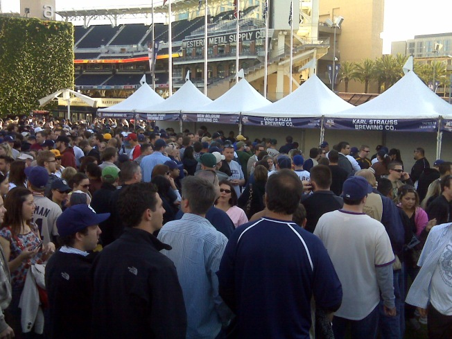 Something Was Brewing at Petco Park ...