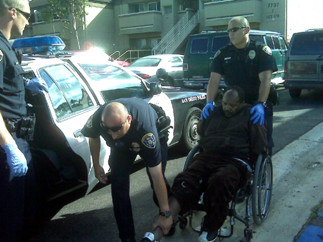 Man in Wheelchair Opens Fire, Misses:Cops