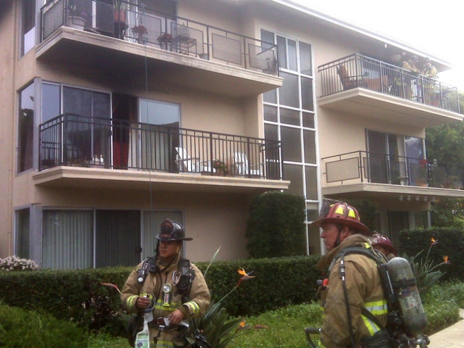 Fire Tears Through La Jolla Complex