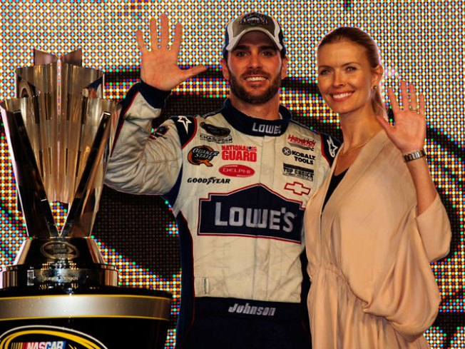 Johnson Captures NASCAR Title For Fifth Time