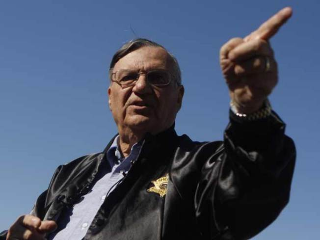 """Toughest Sheriff"" Calls for CA Boycott"