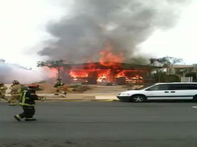 Inferno Destroys North Park Home