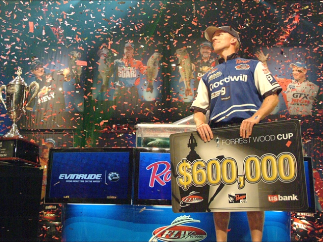 Fisherman Reels in $600,000 Prize