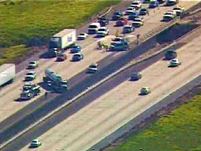 I-5 Crash Involved Wrong-Way Driver: CHP