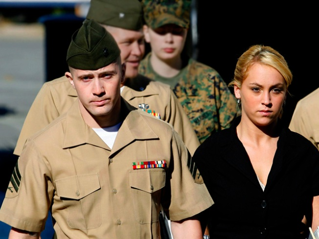 Marine Returns to Brig in Iraq Murder Case