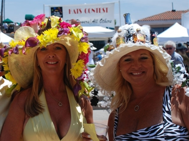 Del Mar Opening Day Hat Giveaway