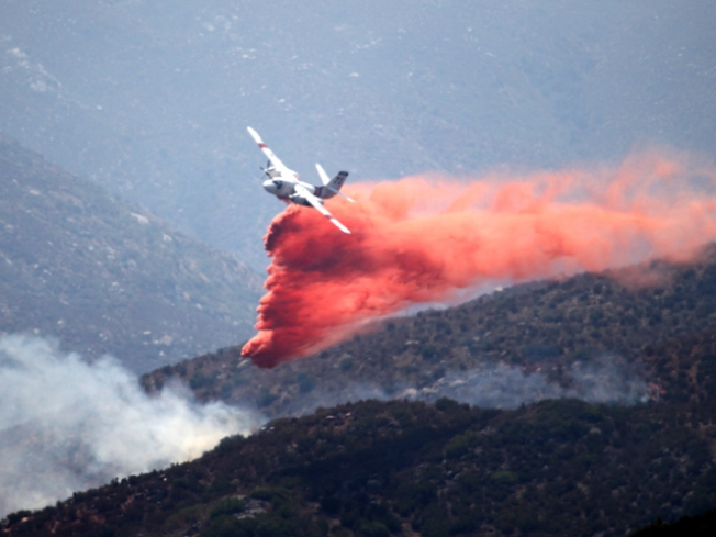 Crews Gain Upper Hand on East County Brush Fire