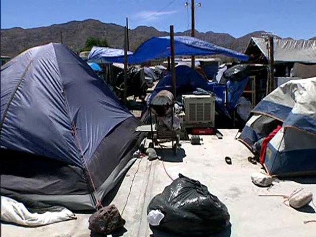 Post-Quake Tent Cities to Close in Baja