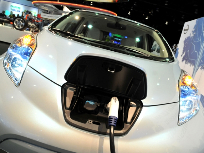 Turning Over a Nissan Leaf