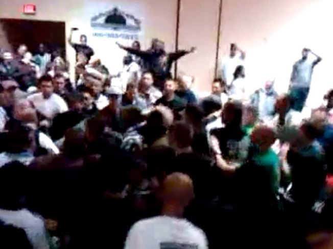 Fight Breaks Out at OPD Boxing Match