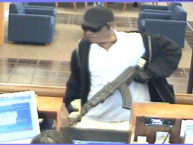 Bank Robbery Suspect Escaped