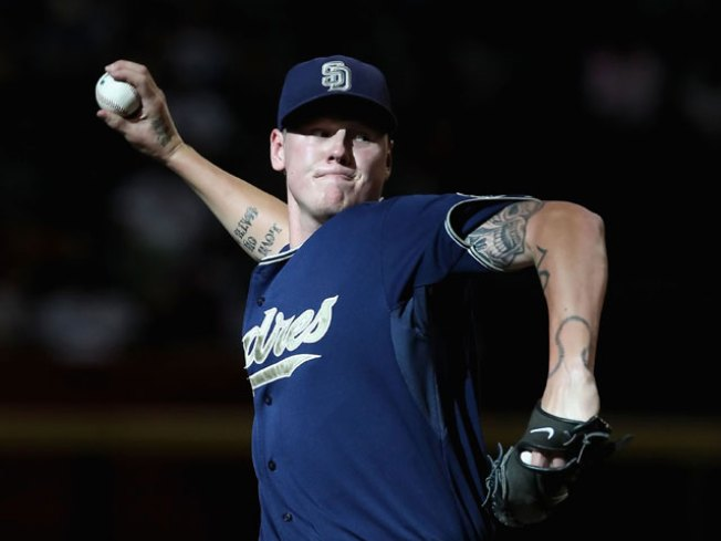 Could Mat Latos Miss Opening Day?