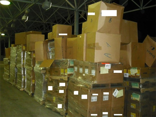 Agents Unlock Pot Shipment