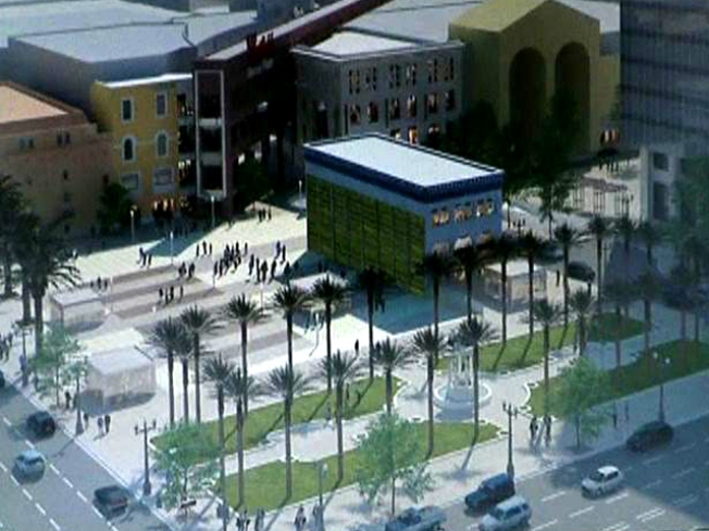 Horton Plaza Revitalization: Eat. Shop. Hang Out at the Park
