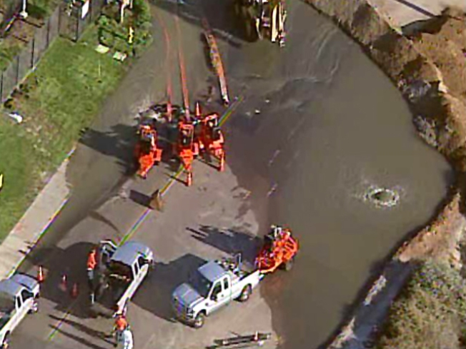 Massive Sewage Spill Creates Big Stink