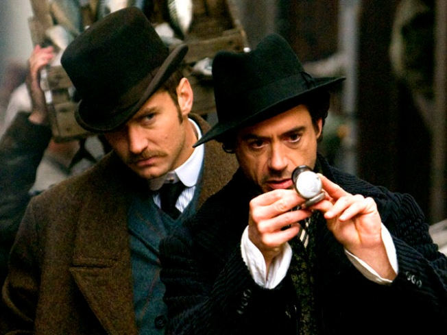 """Sherlock Holmes"" Saves the Day"