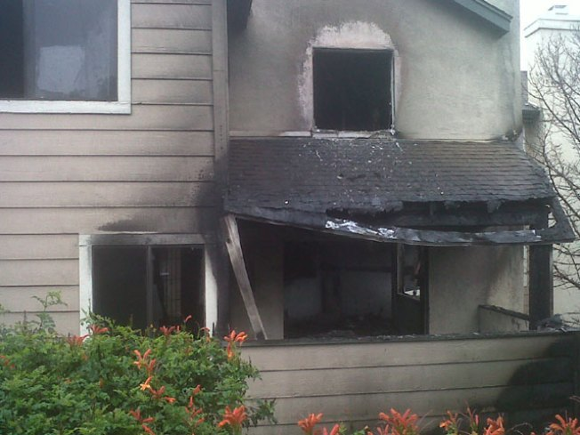 Fire Guts a Spring Valley Apartment