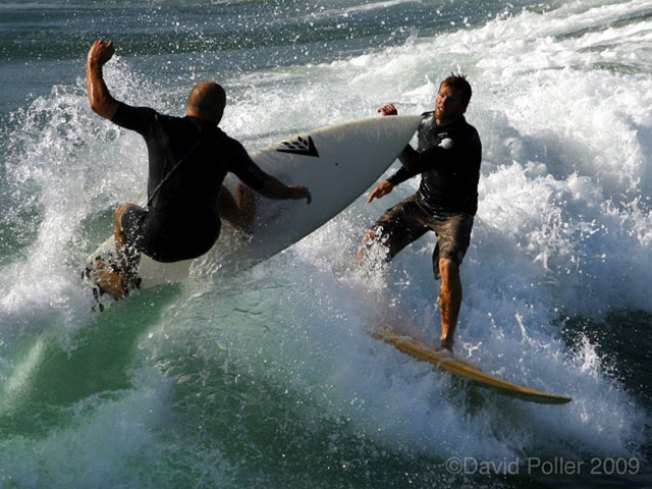 Cool Pic: Surfing Near-Miss