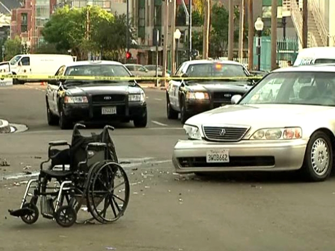 Witnesses Lift Car Off Man in Wheelchair