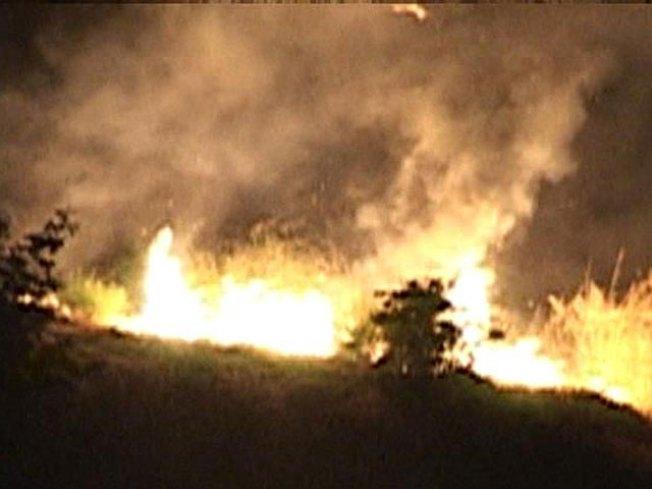 Fire Threatened Torrey Hills Neighborhood