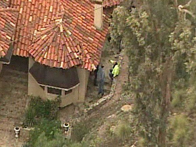 Boulder Crashes Into Vista Home