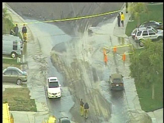 Water Floods San Ysidro Streets