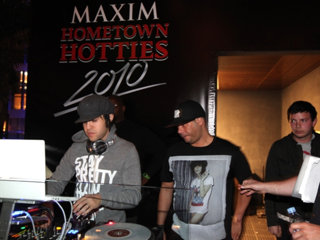 Celeb Guests, DJ Rock Hard Rock Hotel Maxim Bash