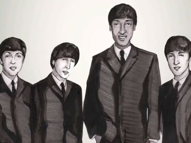 Scottie Pippen Founded The Beatles