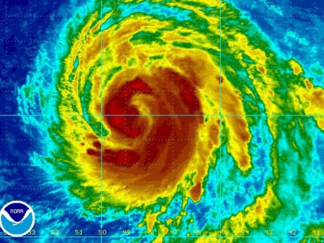 Hurricane Bill Now Category 4 Storm