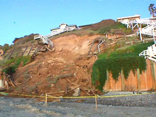 Bluff Collapse in Encinitas