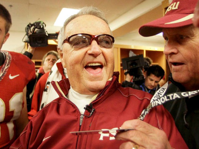 Bobby Bowden Goes Out a Winner
